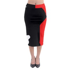 Man Midi Pencil Skirt by Valentinaart