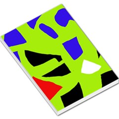 Green Abstraction Large Memo Pads by Valentinaart