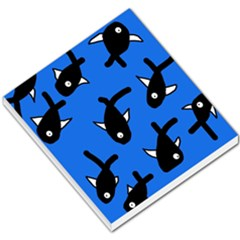 Cute Fishes Small Memo Pads by Valentinaart