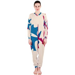 Decorative Amoeba Abstraction Onepiece Jumpsuit (ladies)  by Valentinaart