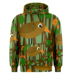 Brown Bird Men s Pullover Hoodie
