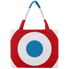 Roundel Of The French Air Force  Mini Tote Bag by abbeyz71