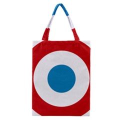 Roundel Of The French Air Force  Classic Tote Bag by abbeyz71