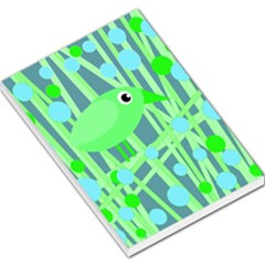 Green Bird Large Memo Pads