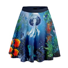 Sea High Waist Skirt by Wanni