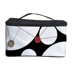 Decorative Circles Cosmetic Storage Case by Valentinaart