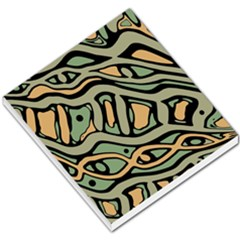 Green Abstract Art Small Memo Pads