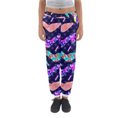 Colorful High Heels Pattern Women s Jogger Sweatpants