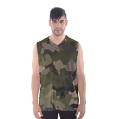 Huntress Camouflage Men s Basketball Tank Top by TRENDYcouture