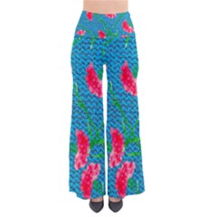 Carnations Women s Chic Palazzo Pants  by DanaeStudio
