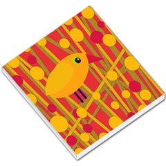 Yellow Bird Small Memo Pads by Valentinaart