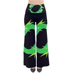 Green Fishes Pants by Valentinaart