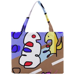 Abstract Comic Mini Tote Bag by Valentinaart