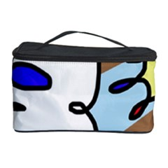 Abstract Comic Cosmetic Storage Case by Valentinaart