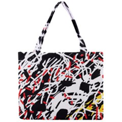 Colorful Chaos By Moma Mini Tote Bag by Valentinaart