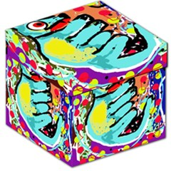 Abstract Animal Storage Stool 12   by Valentinaart