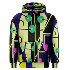 Crazy Abstraction By Moma Men s Pullover Hoodie by Valentinaart
