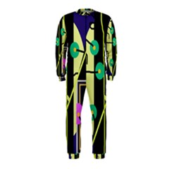 Crazy Abstraction By Moma Onepiece Jumpsuit (kids) by Valentinaart