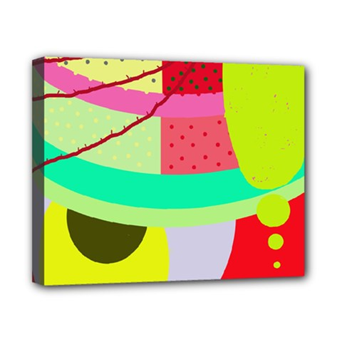 Colorful Abstraction By Moma Canvas 10  X 8  by Valentinaart