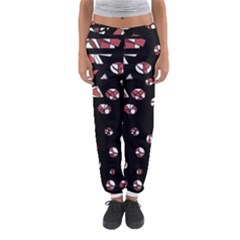 Red Freedam Women s Jogger Sweatpants by Valentinaart