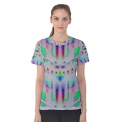 Rainbows In The Moonshine Women s Cotton Tee by pepitasart