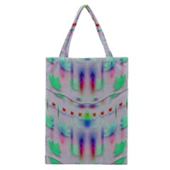 Rainbows In The Moonshine Classic Tote Bag by pepitasart