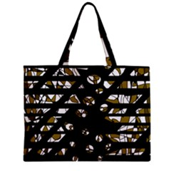Green Freedom Zipper Mini Tote Bag by Valentinaart