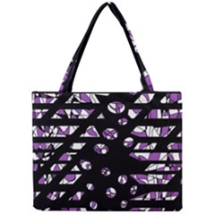 Violet Freedom Mini Tote Bag by Valentinaart