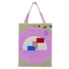 Decorative Abstract Circle Classic Tote Bag by Valentinaart