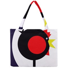 Fat Chicken Mini Tote Bag by Valentinaart