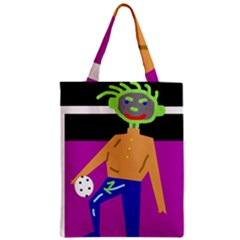 Goalkeeper Zipper Classic Tote Bag by Valentinaart