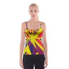 Hot Abstraction Spaghetti Strap Top