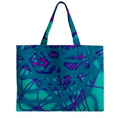 Chaos Zipper Mini Tote Bag by Valentinaart