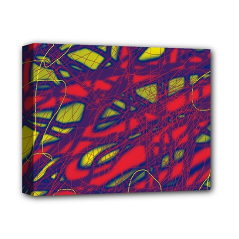 Abstract High Art Deluxe Canvas 14  X 11  by Valentinaart