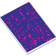 Blue And Pink Neon Large Memo Pads