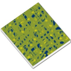 Green And Blue Small Memo Pads