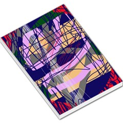 Abstract High Art By Moma Large Memo Pads by Valentinaart