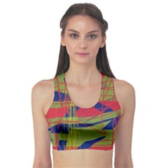 High Art By Moma Sports Bra by Valentinaart