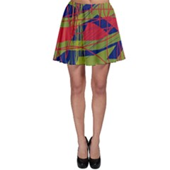 High Art By Moma Skater Skirt by Valentinaart