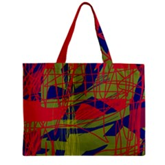 High Art By Moma Zipper Mini Tote Bag by Valentinaart
