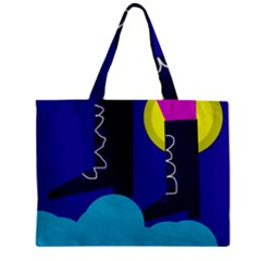 Walking On The Clouds  Zipper Mini Tote Bag by Valentinaart