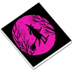Halloween Witch   Pink Moon Small Memo Pads
