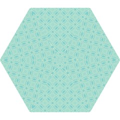 Light Blue Lattice Pattern Mini Folding Umbrellas