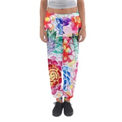 Colorful Succulents Women s Jogger Sweatpants