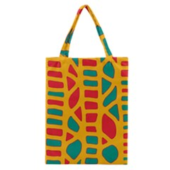 Abstract Decor Classic Tote Bag