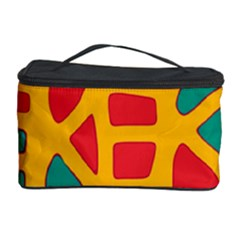Abstract Decor Cosmetic Storage Case
