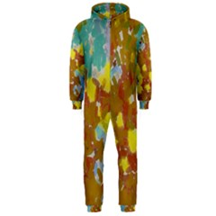 Paint Strokes                                                                                               Hooded Jumpsuit (men) by LalyLauraFLM