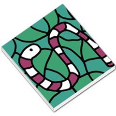 Purple Snake  Small Memo Pads by Valentinaart