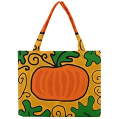 Thanksgiving Pumpkin Mini Tote Bag by Valentinaart