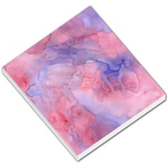 Galaxy Cotton Candy Pink And Blue Watercolor  Small Memo Pads by CraftyLittleNodes